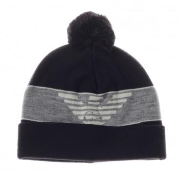 Zimowa czapka z pomponem Armani Junior 000290
