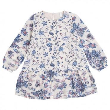 Sukienka dziewczęca w kwiaty Pepe Jeans 000301