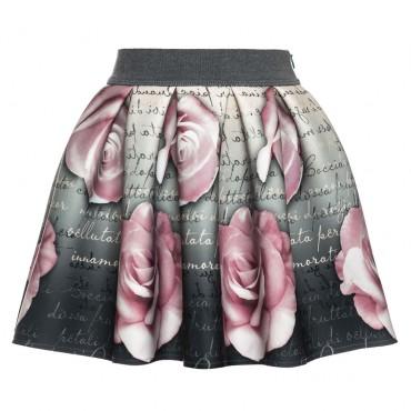Spódnica dla dziewczynki neopren Monnalisa 000303