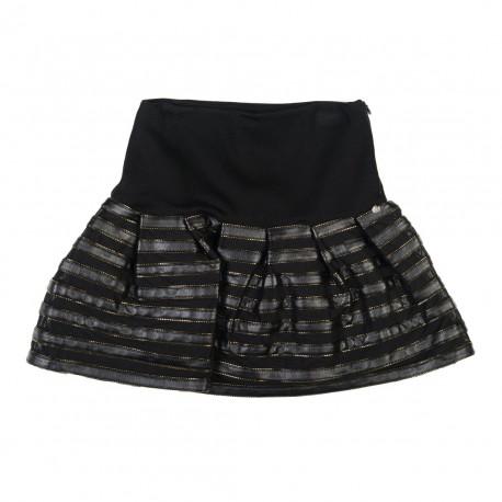 Czarna spódnica Miss Grant 000337 przód