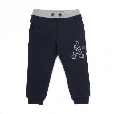 Bawełniane spodnie sportowe Armani Junior B4P05