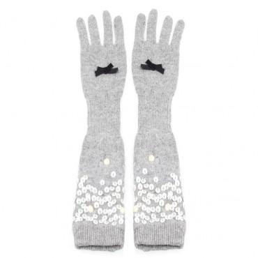 Rękawiczki długie MONNALISA 000388 A