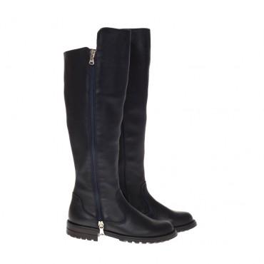 Wysokie kozaki dla dziewczynki D&G 000458 - oryginalne buty dla dzieci - sklep internetowy euroyoung.pl