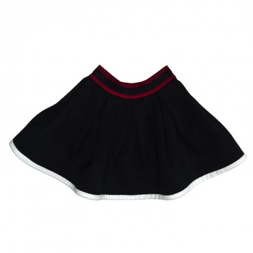 Granatowa spódnica dla dziecka Monnalisa 116706