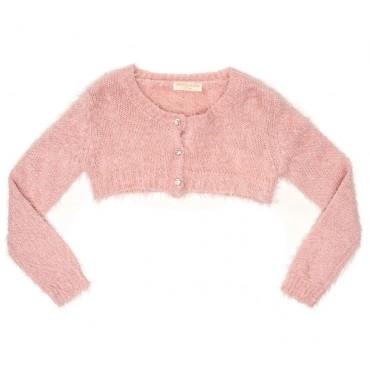 Różowe bolerko dla dziewczynki Monnalisa 000502