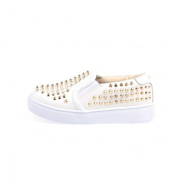 Buty dla dzieci ze złotymi dżetami Akid 000511