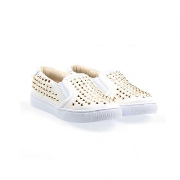 Buty dziewczęce z dżetami AKID 000511 - oryginalne obuwie dla dzieci - sklep internetowy euroyoung.pl