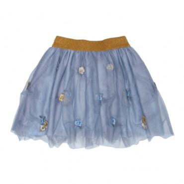 Niebieska spódnica dziewczęca Monnalisa 000525