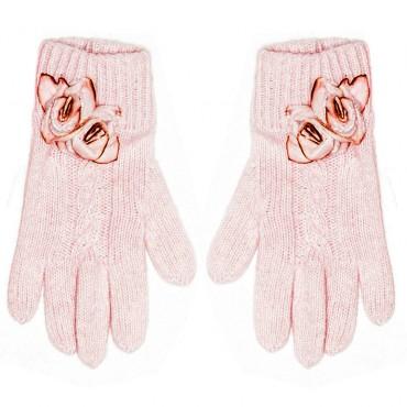 Rękawiczki z różą MONNALISA 000571 A