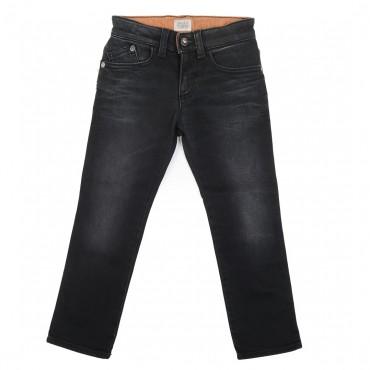 Czarne spodnie chłopięce Armani Jeans 000608