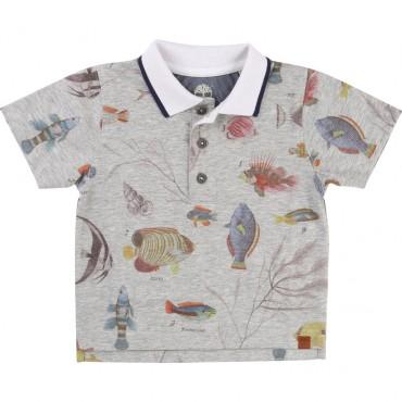 Koszulka polo dla niemowlęcia Timberland 000645