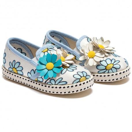 Buty z kwiatem Monnalisa 000728 przód