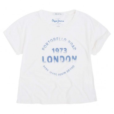 Koszulka dziewczęca Portobello Pepe Jeans 000744