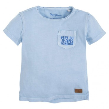 T-shirt chłopięcy PEPE JEANS 000756 - euroyoung.pl