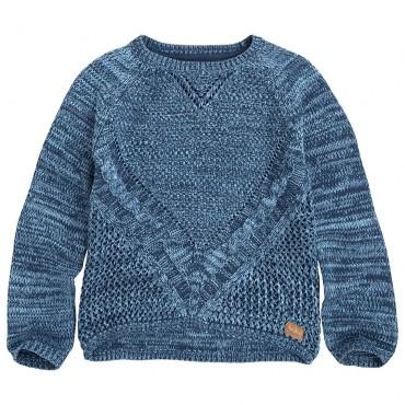 Melanżowy sweter dla dziewczynki Pepe Jeans 000770