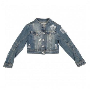 Ekskluzywna kurtka TWIN SET 000779 - luksusowe ubrania dla dzieci