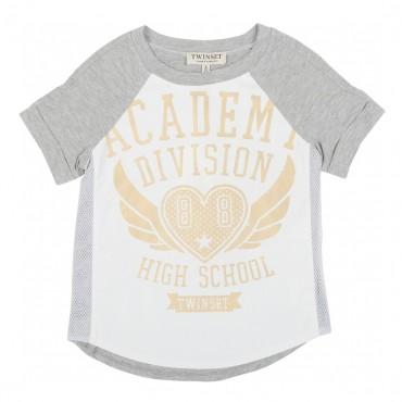 T-shirt TWIN SET 000782 - ekskluzywne ubrania dla dzieci
