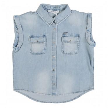 Koszula dziewczęca 000809 - ekskluzywne ubrania dla dzieci