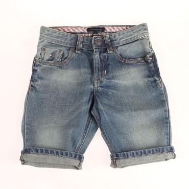 Jeansowe szorty dla dziecka Tommy Hilfiger 000856