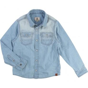 Jeansowa koszula chłopięca Timberland 000921