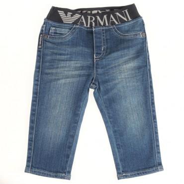 Jeansy chłopięce ARMANI BABY 000976
