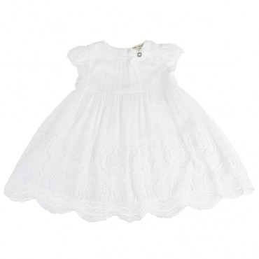 Sukienka dziewczęca TWIN SET 000983, ekskluzywne ubranka dziecięce