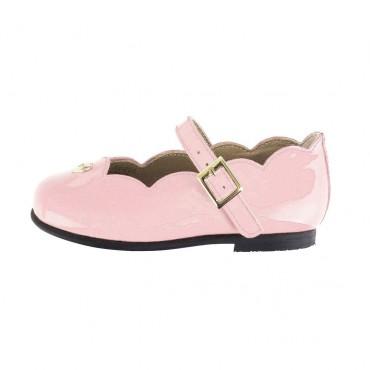 Różowe baleriny Armani Junior 001018 A