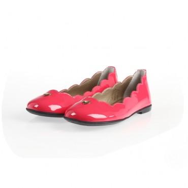 Różowe balerinki Armani Junior 001020 A