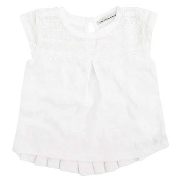 Dziewczęca bluzka z koronką Pepe Jeans 000745