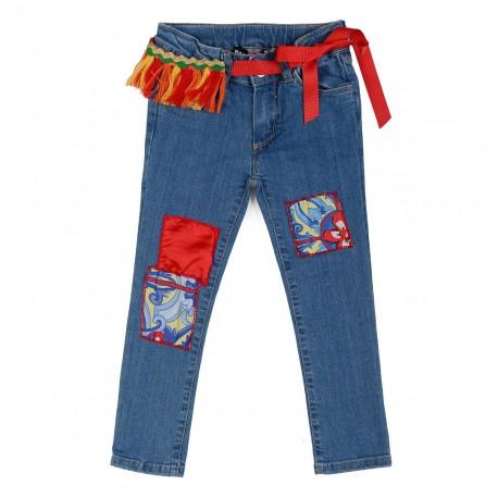 Jeansy dziewczęce Paesaggino 001060