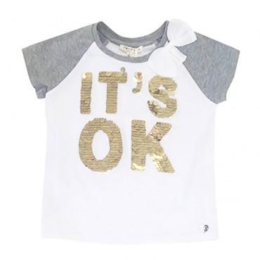 Koszulka dla dziecka It's ok Twin Set 001082