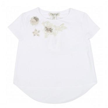 Koszulka dziewczęca TWIN SET 001101