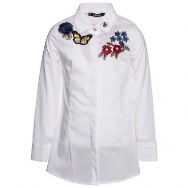 Elegancka koszula dla dziewczynki Monnalisa 001132