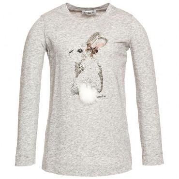 Koszulka dla dziecka z królikiem Monnalisa 001154