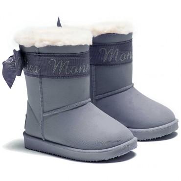 Zimowe buty dziewczęce Monnalisa 001190