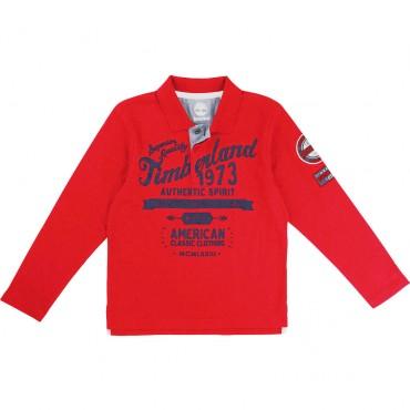 Koszulka polo dla chłopca Timberland 001205