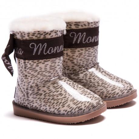 Dziewczęce buty zimowe MONNALISA 001231
