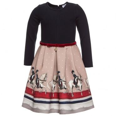 Odświętna sukienka dziewczęca Monnalisa 001235