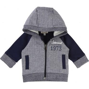 Dwukolorowa bluza niemowlęca Timberland 001301