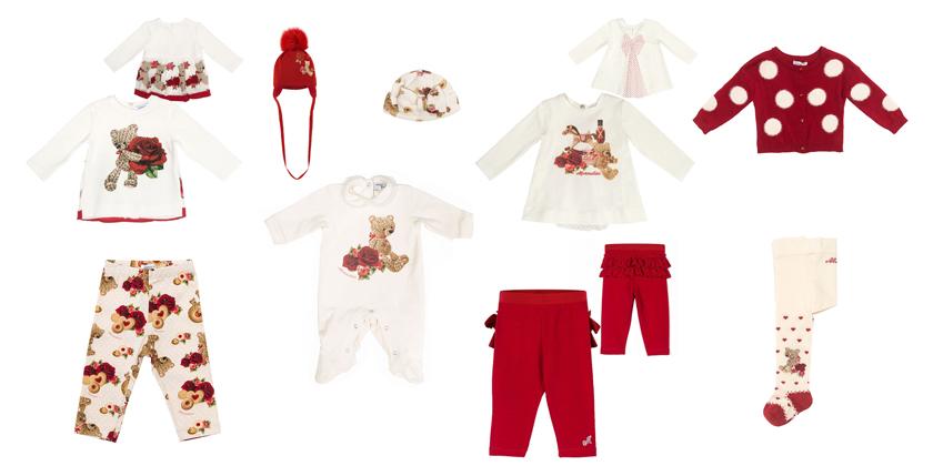 ekskluzywne, świąteczne ubranka dla dzieci