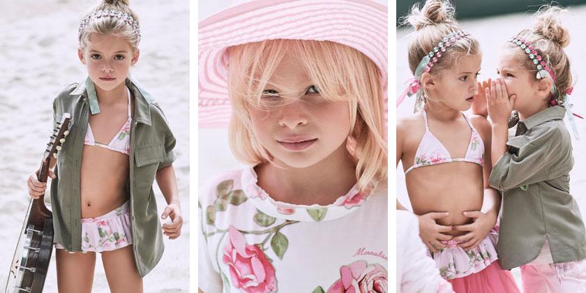 Luksusowe ubrania dla dzieci, Monnalisa SS17, obraz 1