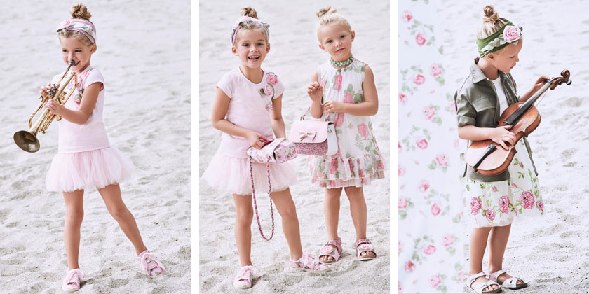 Ekskluzywne ubrania dla dzieci, Monnalisa SS17, obraz 3.