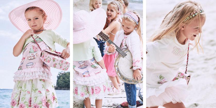 79baf0d307a184 Markowe ubrania dla dzieci, Monnalisa SS17, obraz 5.