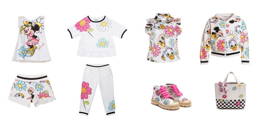 Ekskluzywne ubrania dla dzieci, Monnalisa, motyw Minnie.