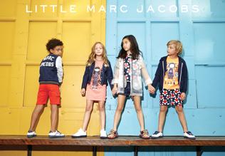 Ekskluzywne ubrania dla dzieci LITTLE MARC JACOBS.