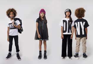 ubrania dla dzieci DKNY aw2020