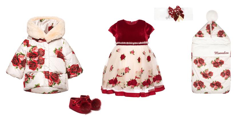 ekskluzywne ubranka dziewczęce na święta