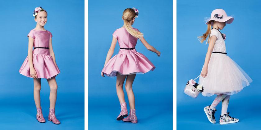 Drogie sukienki dla dziewczynek Monnalisa.