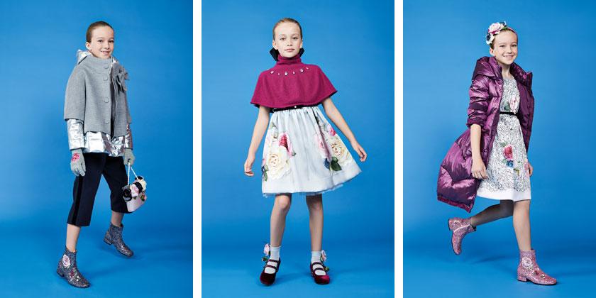 Firmowe ubrania dla dziewcząt Monnalisa.