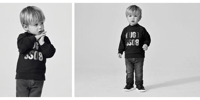 ubranka niemowlęce Hugo Boss